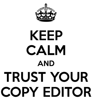 Image result for copy editing