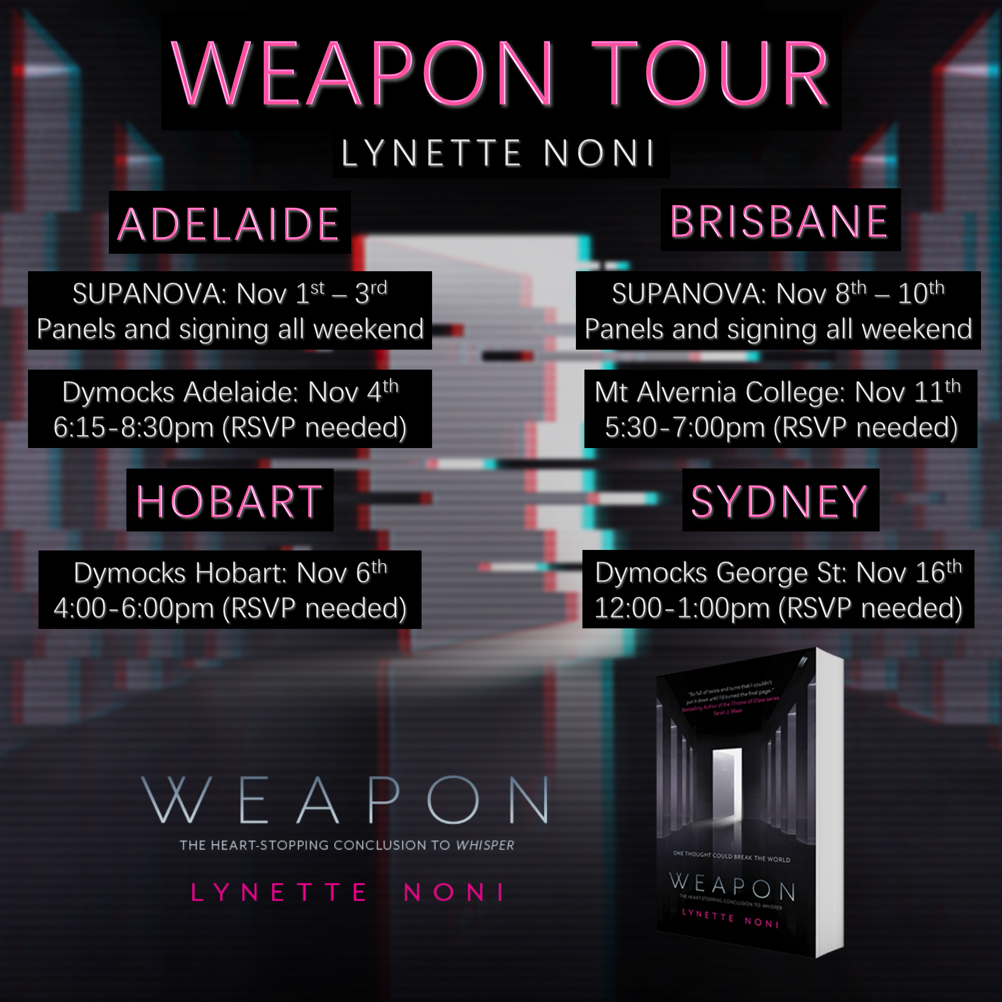 Weapon tour 2